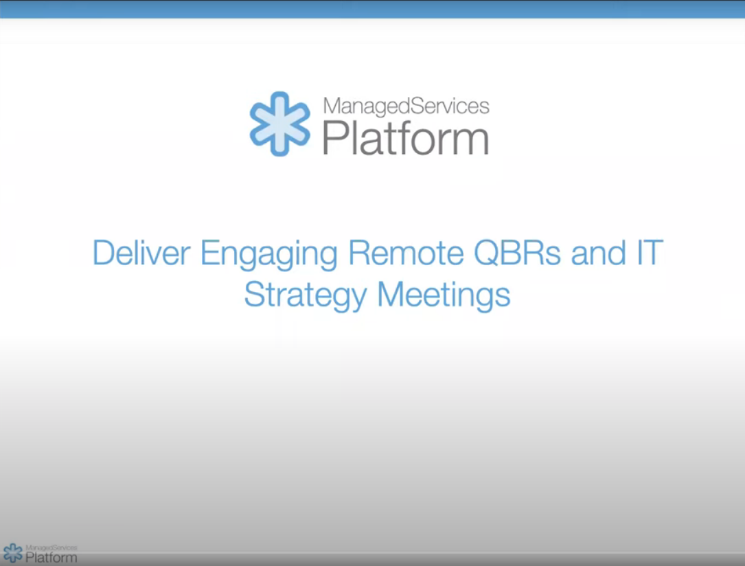 Delivering Engaging Remote QBRs